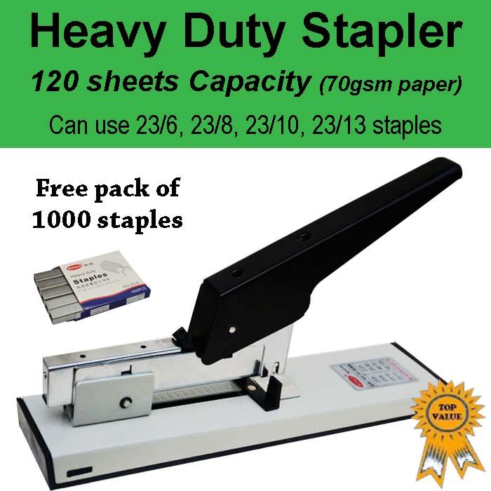 Heavy Duty Stapler JL120