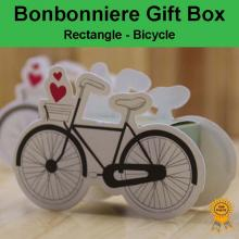 Bonbonniere Bomboniere Candy Gift Boxes - Bicycle (100x68x35mm)