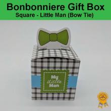 Bonbonniere Bomboniere Candy Gift Boxes - Little Man Box Tie (53x53x53mm) Free Postage