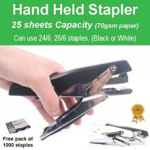 Heavy Duty Hand Held Personal Office Stapler 25 sheets Capcity