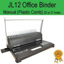 Home Office Plastic Comb Binder JL12