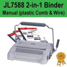 Manual 2-in-1 (Plastic Comb & Wire) Binder - JL7588