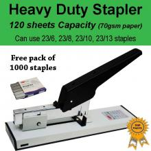 Heavy Duty Home Office Stapler 120 sheets Capacity